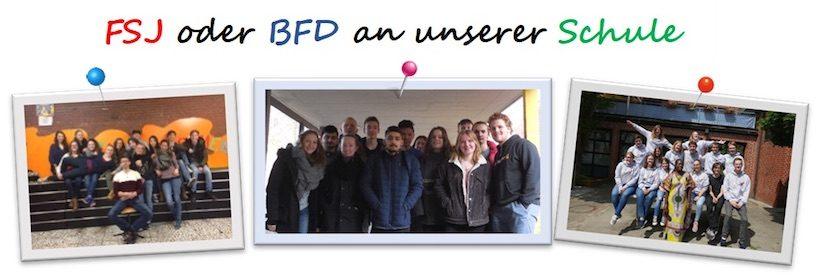 FSJ oder BFD an unserer Schule
